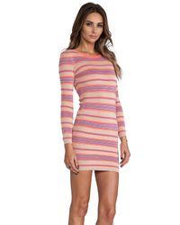 Torn By Ronny Kobo - Multicolor Malena Ottoman Stripes Dress - Lyst