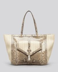Tory Burch | Natural Thea Leather Tassel Hobo Bag | Lyst