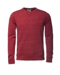 Tommy Hilfiger | Hank Textured Crew Neck Pull Over Jumper for Men | Lyst