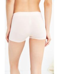 Urban Outfitters | White Seamless Safety Short | Lyst