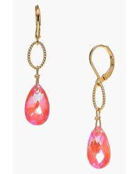 Dabby Reid | Orange 'elizabeth' Drop Earrings | Lyst