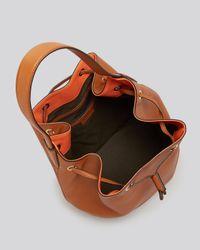 Max Mara - Brown Shoulder Bag - Medium Bucket - Lyst