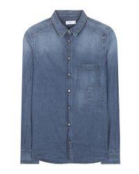 Closed - Blue Denim Shirt - Lyst