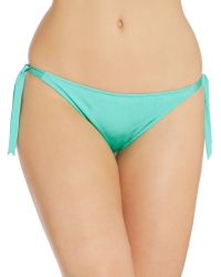 Biba | Green Athena Tie Side Brief | Lyst