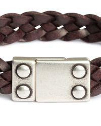 H&M | Brown Braided Bracelet for Men | Lyst