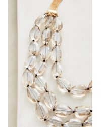 Anthropologie - Metallic Crisanta Necklace - Lyst