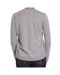 Pinko | Gray Sweater | Lyst