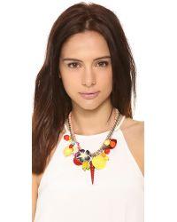 Venessa Arizaga - Multicolor Fruitopia Necklace - Sunset - Lyst