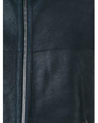 DROMe - Blue Shearling Coat for Men - Lyst