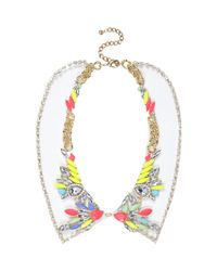River Island - Multicolor Multicoloured Gem Stone Jelly Collar Necklace - Lyst