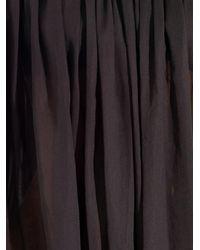 Tomas Maier - Black Cotton-Voile Dress - Lyst