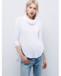 Free People - White We The Free Kristina Thermal - Lyst
