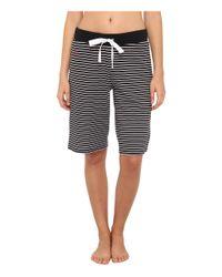 Lauren by Ralph Lauren - Black Espana Bermuda Pajama Short - Lyst