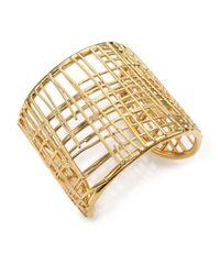 Marc By Marc Jacobs - Metallic Scribble Cuff Bracelet - Lyst