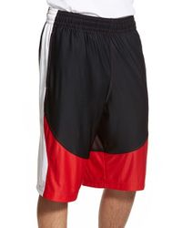 Under Armour Black 'mo Money' Knit Basketball Shorts for men