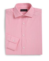 Ralph Lauren Black Label | Pink Classic-fit Striped Dress Shirt for Men | Lyst