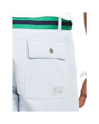 Polo Ralph Lauren | Blue Straight-fit Corduroy Short for Men | Lyst