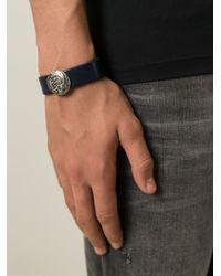 DIESEL | Blue 'astugo' Bracelet for Men | Lyst