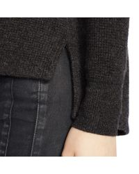 Polo Ralph Lauren - Black Waffle-knit Cashmere Sweater - Lyst