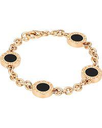 BVLGARI - Metallic - 18ct Pink-gold Bracelet - Lyst