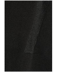 Alexander Wang - Black Knitted Cardigan - Lyst