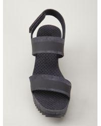 Pedro Garcia | Gray 'Flori' Sandals | Lyst