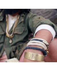 Lulu Frost | Brown George Frost Harpoon Bracelet | Lyst