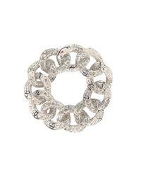 "Roberto Coin | Metallic Skyline Link Bracelet 7"" | Lyst"