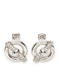 Tommy Hilfiger | Metallic Toggle Earrings | Lyst