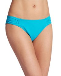 Tommy Bahama | Green Side Sheered Bikini Bottoms | Lyst
