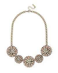 BaubleBar | Orange Vintage Dandelion Collar | Lyst