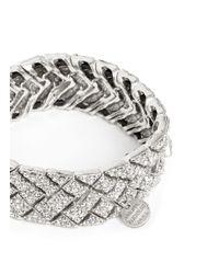 Philippe Audibert - Metallic Swarovski Crystal Elasticated Bracelet - Lyst