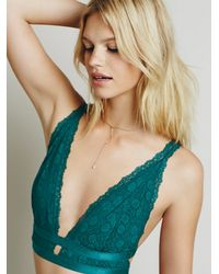 Free People - Blue Intimately Womens Call Me Darling Soft Bra - Lyst