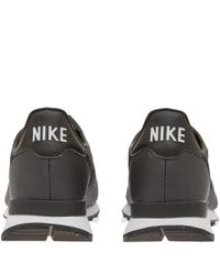 Nike - Black Internationalist Jacquard Trainers - Lyst