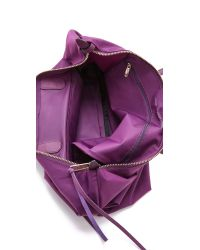 Rebecca Minkoff | Purple Nylon Mab Tote - Taupe | Lyst