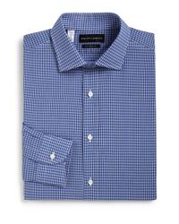 Ralph Lauren Black Label | Blue Tailored-fit Check Dress Shirt for Men | Lyst