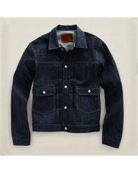RRL - Blue Type Ii Jacket for Men - Lyst