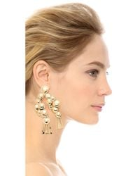 Aurelie Bidermann | Metallic Drop Earrings | Lyst