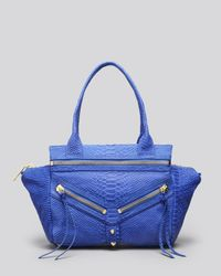 Botkier - Blue Satchel - Small Trigger - Lyst