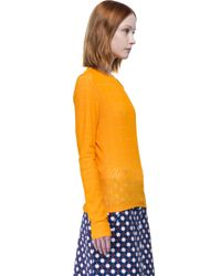 Carven - Orange T-shirt - Lyst