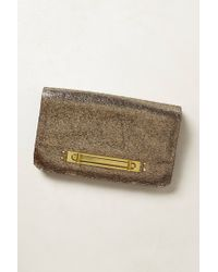 orYANY | Metallic Sillage Turnlock Clutch | Lyst