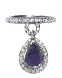 Armenta - Purple New World Drop Ring - Lyst