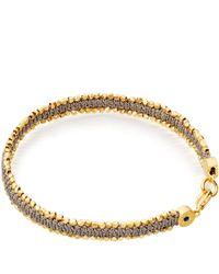Astley Clarke - Metallic Grey Forever Changed Nugget Bracelet for Men - Lyst