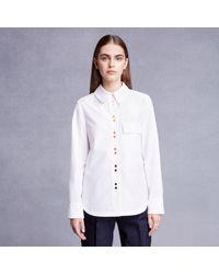 Trademark | White Rainbow Button Shirt | Lyst