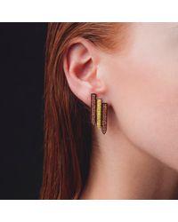 Ralph Masri - Multicolor Sacred Windows Orange Yellow Earrings - Lyst