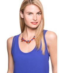 BaubleBar | Blue Enamel Delta Collar | Lyst