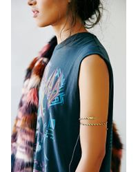 Urban Outfitters - Metallic Twisted Snake Armband - Lyst