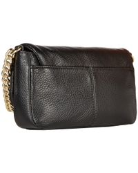 Calvin Klein - Black Pebble Crossbody - Lyst