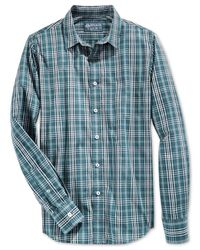 American Rag | Green Carolyn Plaid Shirt for Men | Lyst