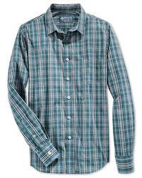 American Rag | Green Carolyn Plaid Shirt for Men | Lyst